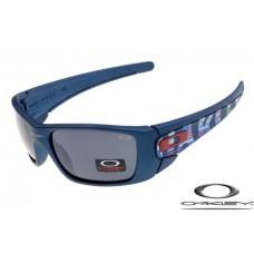 Oakley fuel cell sunglasses with nave blue frame / black iridium lens