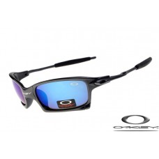 Oakley x squared sunglasses with black frame / ice iridium lens for sale