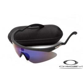 Oakley razor blade new sunglasses with black frame / ice iridium lens